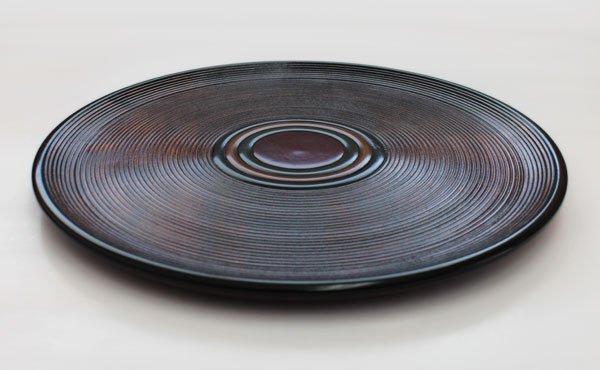 画像2: 丸盆千筋コマ【30cm】