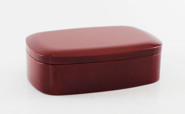 画像1: 一段小判弁当箱 後藤塗